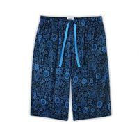 【HENIS】舒適純棉型男居家休閒五分褲-4件組/隨機取色HS712