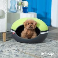 【IBIYAYA依比呀呀】小巨蛋寵物床窩-綠(FB1308)