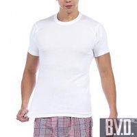 【BVD】時尚型男純棉圓領短袖內衣~6件組(TW113)