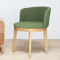 【H&D】Poppy波比日系繽紛布單椅/書椅-(四色)