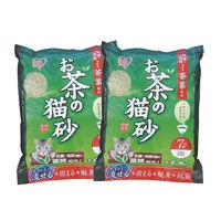 【IRIS】日本 天然綠茶茶葉豆腐貓砂(OCN-70) 7L X 2包