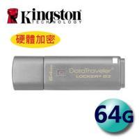 Kingston 金士頓 64GB DTLPG3 Locker+ G3 USB3.0 加密型 隨身碟