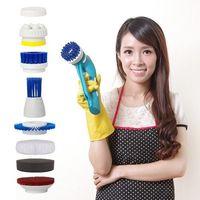 【YOTO 悠樂】攜帶式一機多用防水清潔機 打蠟機 去角質按摩機(ZY1392)