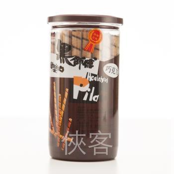 黑師傅捲心酥-巧克力口味200g x3罐組