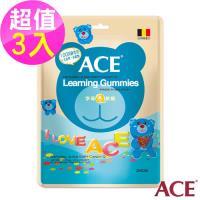 【ACE】比利時進口  字母Q軟糖 量販包3入組(240g/袋)