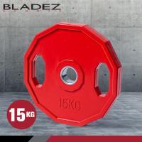 BLADEZ OP奧林匹克包膠槓片-15KG
