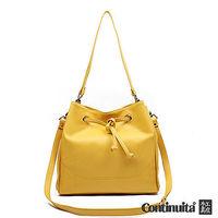 【CONTINUITA 康緹尼】台灣手工真皮包 MIT 名品風格水桶包 (4色)