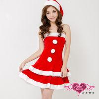 【天使霓裳】聖誕之戀 狂熱聖誕舞會 耶誕服 角色服(紅)-KK739