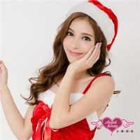 天使霓裳 聖誕帽 歡樂耶誕派對角色扮演配件(紅F) -CE15111
