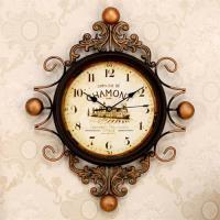 協貿 佛羅倫薩拖斯卡納風掛鐘復古裝飾