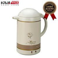 KRIA可利亞 1.5L自動保溫型迷你電熱水瓶/快煮壺KR-206(福利品)
