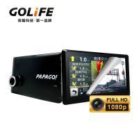 PAPAGO! GoPad DVR7 多功能Wi-Fi行車記錄聲控導航平板(送原廠專屬家用充電器)