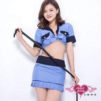 天使霓裳 航站情緣 空姐服 角色扮演服(藍F)-G305