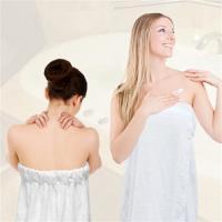 法式寢飾花季 純品良織-頂級SPA專用純棉厚織浴裙