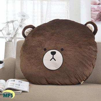 【莫菲思】捷居-湯姆熊專利大臉中抱枕