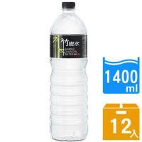 【奇寶】竹炭水1400ml(12瓶/箱)