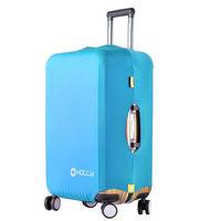 PUSH! 旅遊用品 行李箱 登機箱 萊卡雙重固定 彈力保護套 防塵套 拖運套(標準型)S35 S號
