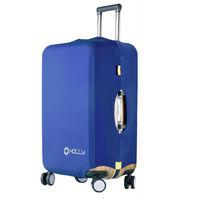 PUSH! 旅遊用品 行李箱 登機箱 萊卡雙重固定 彈力保護套 防塵套 拖運套(加厚型)S34 L號