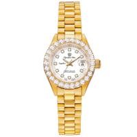 奧林比亞之星 Olympia Star-經典晶鑽錶(金色28mm)683271DK