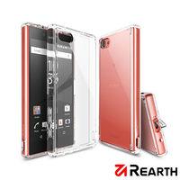 Rearth Sony Xperia Z5 Compact (Ringke Fusion)高質感透明保護殼