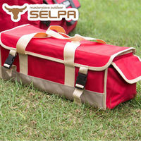 【韓國SELPA】紅色限量款多功能工具收納包/槌/工具/露營