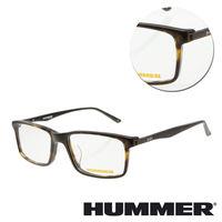 【HUMMER】方框琥珀板材光學眼鏡(02-H2-311w-C2)