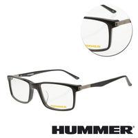 【HUMMER】方框板材黑色光學眼鏡(02-H2-311w-C1)
