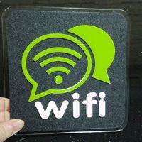 PUSH! 居家生活用品wifi無線網絡覆蓋標識牌I08