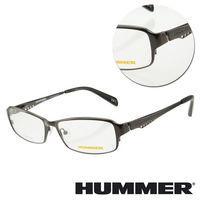 【HUMMER】鈦金屬全框槍色光學眼鏡(H1-1005-C4)