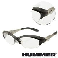 【HUMMER】半框銀色光學眼鏡(V8-901-SI)