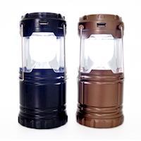 【永不斷電】LED 野外求生照明燈2入/伸縮露營燈/緊急照明燈/G-85