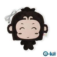 e-Kit 逸奇 冬天保暖用品 可愛小猴子 保暖滑鼠墊USB保暖手墊 滑鼠墊 保暖手  可拆洗UW-MS30