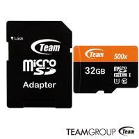 Team 十銓 32GB 80MB/s microSDHC TF UHS-I C10 記憶卡
