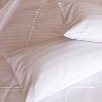 【法式寢飾花季】優雅生活-五星級飯店御用寬直紋枕套8入組