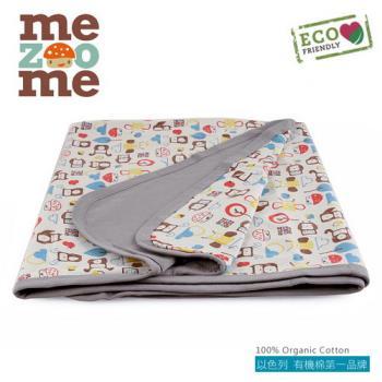 以色列mezoome有機棉被毯-舒適被(大象灰)