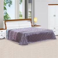【時尚屋】[UZ6]泰豐白色5尺雙人床UZ6-1-1+1-2不含床頭櫃-床墊