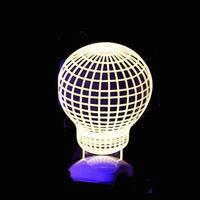 北歐3D立體 USB LED創意小夜燈-燈泡