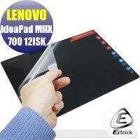【EZstick】Lenovo IdeaPad Miix 700 12 ISK 系列專用 靜電式筆電LCD液晶螢幕貼 (鏡面防汙螢幕貼)