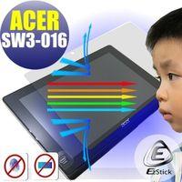 【EZstick】ACER Switch 10 E SW3-016 平板專用 防藍光護眼鏡面螢幕貼 靜電吸附 抗藍光