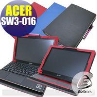 【EZstick】ACER Switch 10 E SW3-016 系列專用 平板專用皮套 (可裝鍵盤基座旋轉款式)