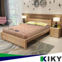 【KIKY】一代德式旗艦二線護背彈簧單人加大床墊3.5尺/彈簧床墊