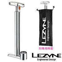 LEZYNE CNC TRAVEL FLOOR DRIVE鋁合金攜帶立式打氣筒 (附棉套)
