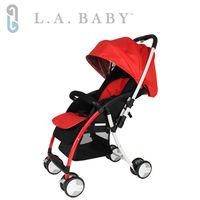 美國 L.A. Baby  超輕量雙向全罩嬰幼兒手推車 Travelight Baby Stroller (三色)