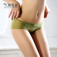 久慕雅黛 氣質女神‧蕾絲精品高質感小褲 青草綠