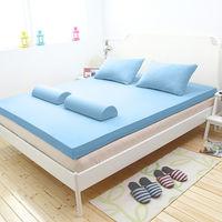 輕鬆睡-EzTek 波浪面竹炭感溫釋壓記憶床墊{單人10cm}繽紛多彩3色