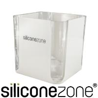 【Siliconezone】520ml施理康耐熱立方造型計量杯計量匙-灰