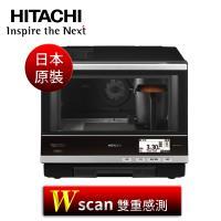 HITACHI日立【MRO-RBK5500T】33L可製麵包過熱水蒸氣烘烤主廚級大視窗微波爐(日本原裝進口)