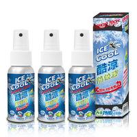 ECHAIN TECH 熊掌防蚊液酷涼型60ML*3瓶組