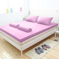 [輕鬆睡-EzTek]全平面竹炭感溫釋壓記憶床墊{單人加大9cm}繽紛多彩3色