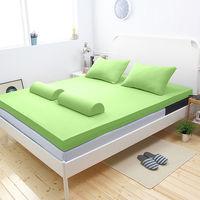 [輕鬆睡-EzTek]  波浪面竹炭感溫釋壓記憶床墊{雙人8cm}繽紛多彩2色